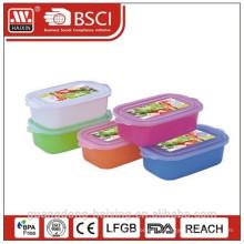 Plastique ronde micro-ondes alimentaire Container(4L)