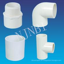 PVC-Rohrverschraubungen für den Bau