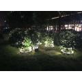 Lampe de maintien d'arbre de colonne professionnelle populaire en plein air