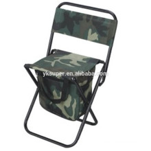 Cooler Chair with Backrest for Outdoor Leisure