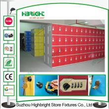 A fichas armário crianças armário armário de armazenamento plástico ABS