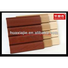PVC-Slatwall-Panel leichtes Wandpaneel