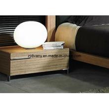 Tika meubles Style moderne chambre à coucher en bois table de chevet (MZ-B0205)