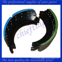 4707 4515 high quality heavy duty truck brake shoe