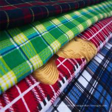 100% algodón 20X10 40X42 tela de franela impresa suave cepillado