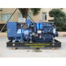 Генератор двигателя Weichai Wp6CD с генератором переменного тока Marathon