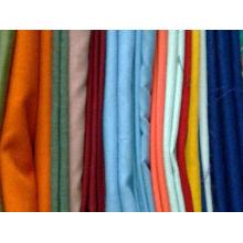 T / C) 80% POLYESTER 20% COTON Tissu teinté (fabricant fournissent directement)