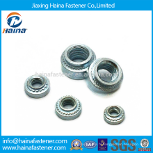 Stock Blue White Zinc Plated Self Clinching PEM Press in Nuts