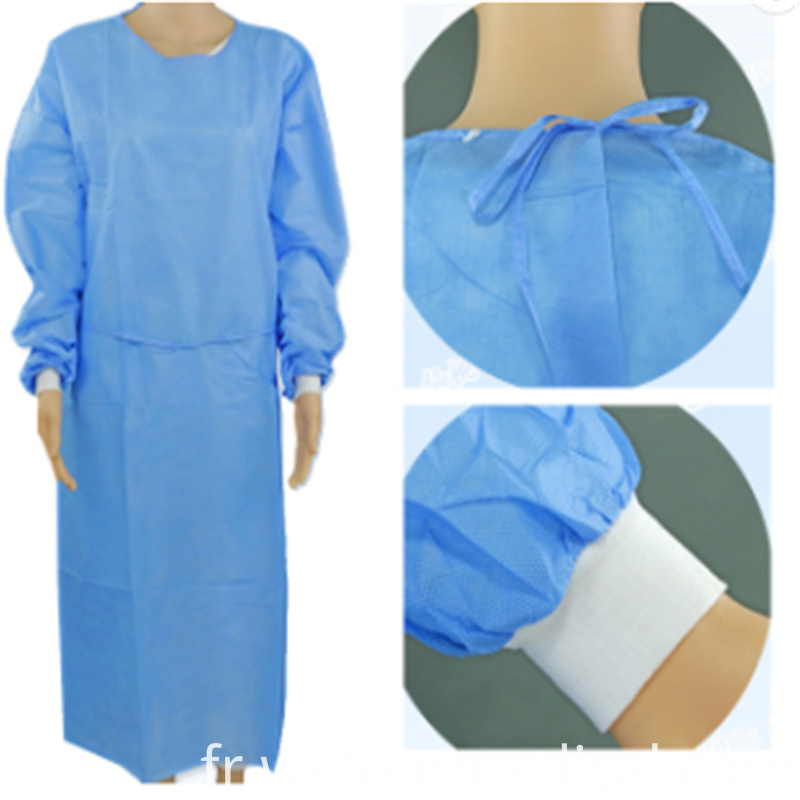 Disposable Medical Isolation Gown Protective Clothing