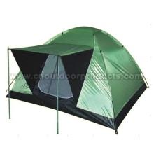 Outdoor pessoa 2 tendas de campismo
