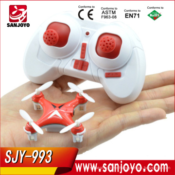 HJ993 Mini 2.4g 4ch 6 Axis LED Rc Quadcopter Airplane Best Toy Gifts for Children