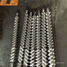 Top quality parallel twin barrels extruder for plastic pipe