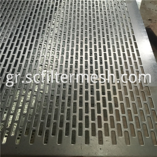 stainless 316 perforated metal