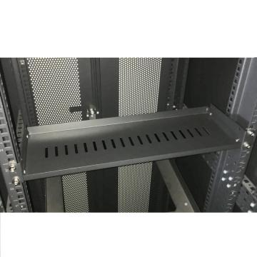 "19 ""Network Cabinet Vented Rack Shelf 6"" Deep"