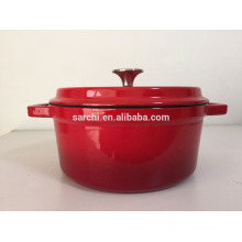 Morden Enamel cast iron cooking pot