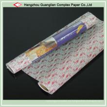 Papel de pergamino impreso de calidad alimenticia