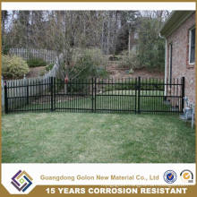 Powder Coated Ornamental Wrought Iron Small Garden Fence