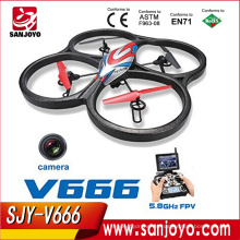 Quadcopter / Drone Ready To Fly con cámara HD - V666 RC Helicopter