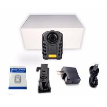 Cámara de cuerpo usable de la policía de 1080P multilenguaje Cámara de vídeo de bolsillo de la policía de la visión nocturna de IR Ambarella A7