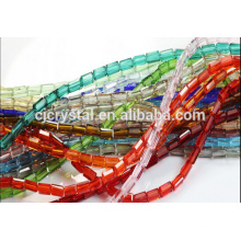 Wholesale cheap glass rectangle beads