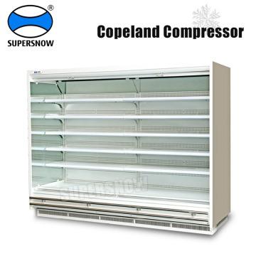 Réfrigération de supermarché utilisée ouverte à plusieurs étages verticale