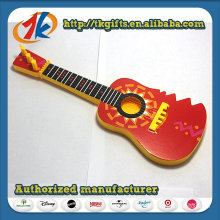 Colorful Plastic Mini Non-Function Guitar Toy for Kids