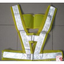 Bande réfléchissante PVC pour gilet et vêtements
