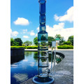 Vente en gros Hot Simple Honeycomb 3 couches Percolator Water Glass Pipe