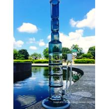 Großhandel Hot Simple Honeycomb 3 Schichten Percolator Wasser Glas Rohr