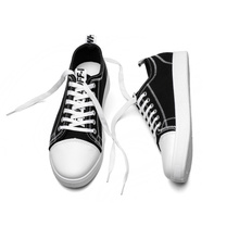 Lace Up Canvas Sneaker Skor till Man