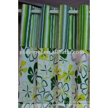 Rideau de porte fleur imprimée toile imperméable à l'eau