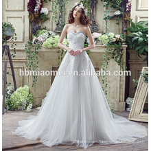 Sexy off shoulder lace bridal wedding dress 2017 new summer white color luxury guangzhou wedding dress with prices with train