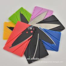 Quente!!! De alta qualidade multifunções bolso faca de cartão de crédito, wholesale.welcome para encomendar