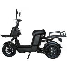 Long range 1000W 2 Wheel Electric Scooter Cargo Ebike Steel Cargo Scooter