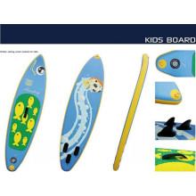 Nuevo estilo Surf pequeña Boarf con patrón de pesca para niños para jugar en el agua