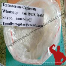 Cyp испытания cypionate тестостерона порошка Анаболитного Стероида для мышечной Новостройка