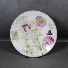 Juego de vajilla de cerámica Juegos de platos blancos