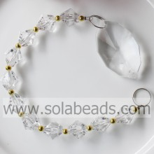 Chunky 270MM Length Crystal Bead Drop