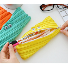 Low MOQ Cute Fashion Zipper Pencil Cases Pouch Cosmetic Holder Bags Wholesale