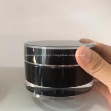 Couleur adaptée aux besoins du client par pot cosmétique 100g avec l'impression