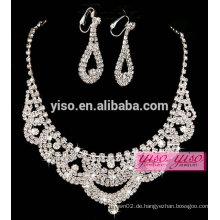 Heiße Verkauf Diamant Halskette Designs Braut
