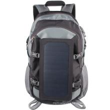 6.5W Sunpower high efficiency Waterproof solar Mountaineering hiking backpack