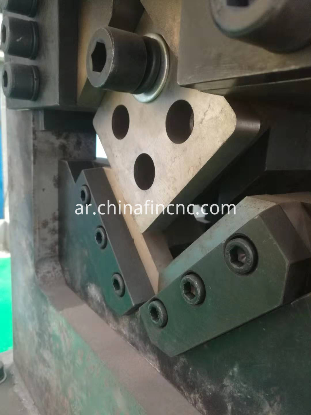 Angle Punching Cnc Machine