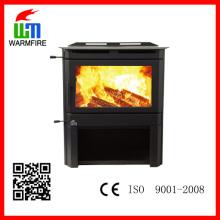 Alta qualidade laminados a frio de aço indoor fogão a lenha venda