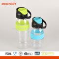 2016 Single Wall Plastic Sports Water Bottle BPA Gratuit