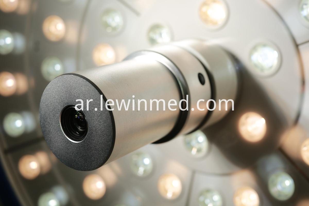 Ceiling mount lamp with camera system