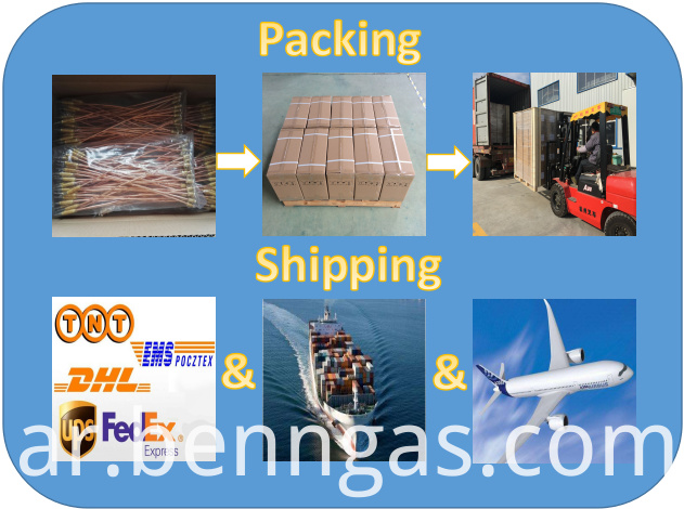 Packing Shipping Electrode
