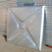 Pressed Steel Galvanized Water Storage Panel Tank