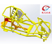 Power Tool Frame Parts with Powder Coating