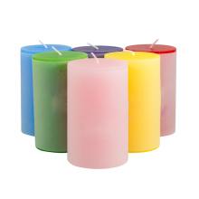 100% Paraffin Wax Wedding Gifts Pillar Candle